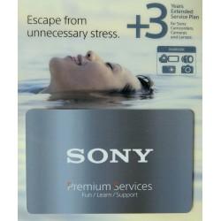 Sony podaljšana garancija - 3 leta