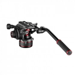 Manfrotto NitroTech 608 fluid video glava - MVH608AH