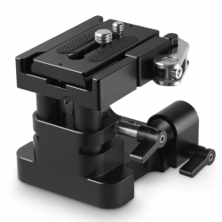 SmallRig Universal 15mm Rail Support System Baseplate