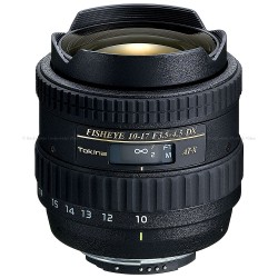 TOKINA 10-17MM F/3,5-4,5 FISHEYE DX CANON