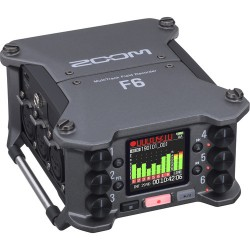 Zoom F6 Multi Track Audio Field Recorder