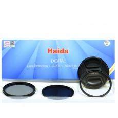 2345 HAIDA Slim Filter Kit: Protektor + C-POL + ND0.9, 8x + rezervni pokrovček
