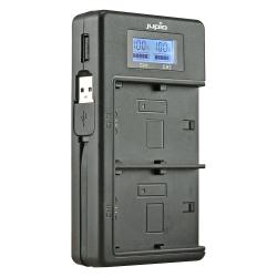 JUPIO USB Duo polnilec za Sony NP-FH50/70/100 NP-FV50/70/100
