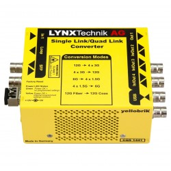 LYNX - CQS 1441 Bi-directional Single-Link to Quad-Link converter