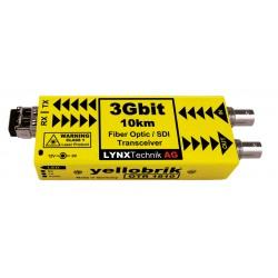 LYNX - OTR 1810 LC 3Gbit Fiber Optic / SDI Transceiver - 10km (Singlemode Fiber LC Connector)
