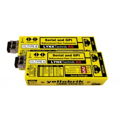 LYNX - OBD 1510 D RS232/422/485 Serial and GPI Bidirectional Fiber Transceiver