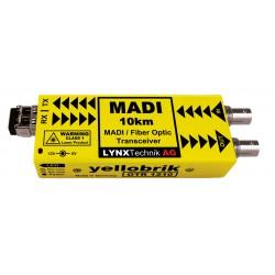 LYNX - OTR 1210 MADI Coax to MADI Fiber Transceiver - 10km - 1310nm – Singlemode Fiber LC connectors
