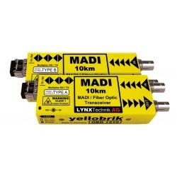 LYNX - OBD 1210 MADI Coax to MADI Bidirectional Fiber Transceiver - 10km