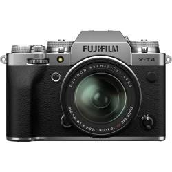 Fujifilm X-T4 srebrn + 18-55mm f2.8-4 R LM OIS