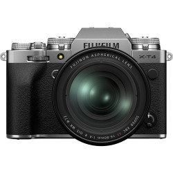 Fujifilm X-T4 srebrn + 16-80mm F4 R OIS WR