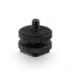 """SmallRig Cold Shoe Adapter with 3/8"""" to 1/4"""" thread 814"""