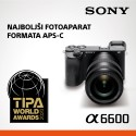 Sony A6600 + Sony E 16-50mm PZ