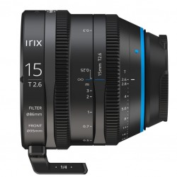 IRIX Cine 15mm T2.6 za Sony E-Mount