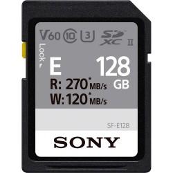 Sony SDXC SF-E series 128GB UHS-II Class 10 U3 V60
