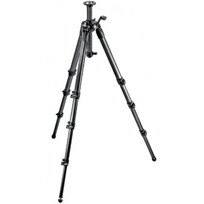 Manfrotto MT057C4-G 057 karbonsko stojalo, 4 segmenti, nastavljiv steber