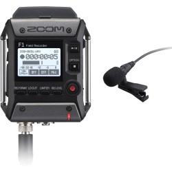 ZOOM F1-LP snemalnik zvoka z lavalier mikrofonom