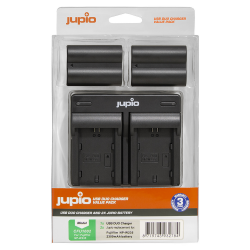 Jupio 2x baterija NP-W235 za Fuji + polnilec