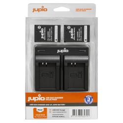 Jupio 2x baterija LP-E12 za Canon + polnilec