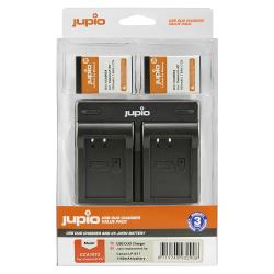 Jupio 2x LP-E17 baterija za Canon + polnilec