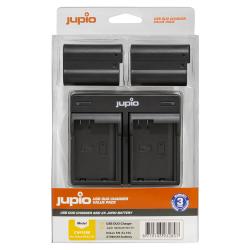 Jupio 2x EN-EL15C baterija za Nikon + polnilec
