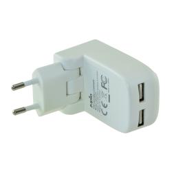Jupio Dual USB Wallcharger Foldable 17W