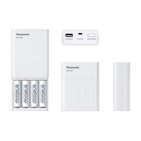 Panasonic Eneloop Smart Quick polnilnik + 4x AA