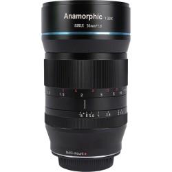 SIRUI 35mm F1.8 Anamorphic 1.33X objektiv (MFT)