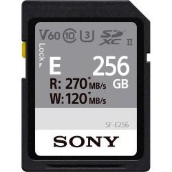 Sony SDXC SF-E series 256GB UHS-II Class 10 U3 V60