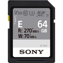 Sony SDXC SF-E series 64GB UHS-II Class 10 U3 V60