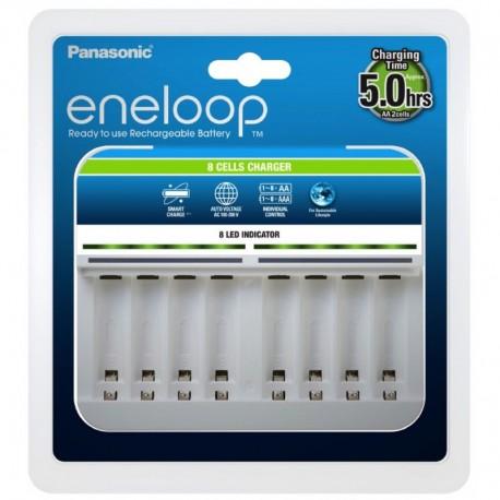 PANASONIC ENELOOP polnilec za 8 baterij