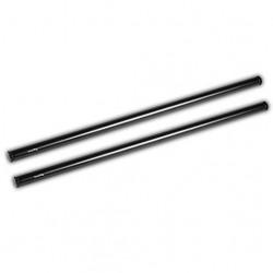 SmallRig 2x 15mm Black Aluminum Alloy Rod (M12-45cm)