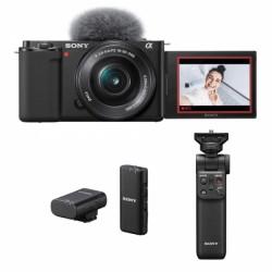 Sony ZV-E10 + SELP1650 + GP-VPT2BT + mikrofon