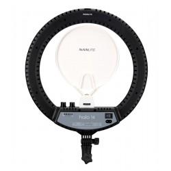 NanLite HALO 14 LED Ring Light