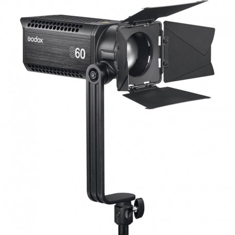 GODOX S60 LED Focusing Light with barndoor