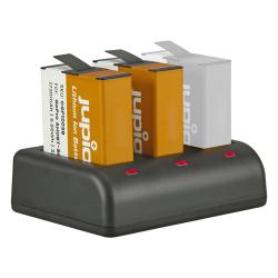 Jupio 2x baterija za GoPro HERO9 in HERO10 + USB Triple polnilec