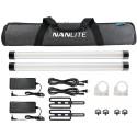 NanLite 2x PavoTube II 15X RGBWW LED luč