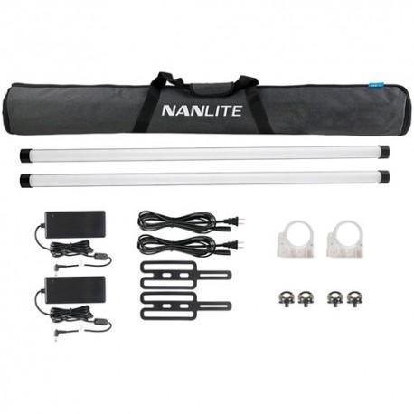 NanLite 2x PavoTube II 30X RGBWW LED luč