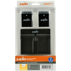 Jupio Kit Duo USB polnilnik + 2 x EN-EL14 bateriji