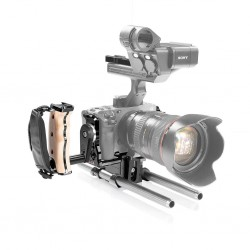 SHAPE Sony FX3 Cage 15mm LW Rod System