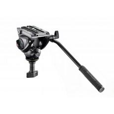 Manfrotto MVH500A Fluid-Videoglava, kompaktna 60mm polkrogla
