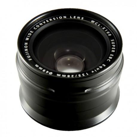 Fujifilm WCL-X100B Wide Angle Lens črne barve