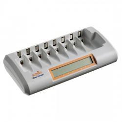 Jupio Octo Charger polnilec - polni do 8 AA ali AAA baterij