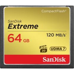 SanDisk 64GB Extreme CF kartica UDMA-7 800x 120MB/s