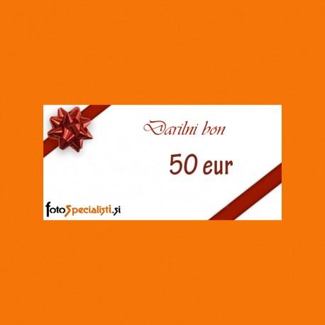 Darilni bon: 50 EUR