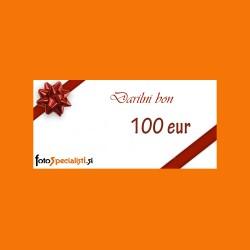 Darilni bon: 100 EUR