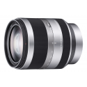 Sony E 18-200 mm F3,5-6,3 OSS srebrn (SEL18200)