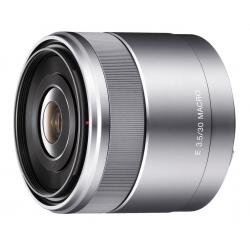 Sony 30 mm F3,5 Makro serije E srebrn (SEL30M35)
