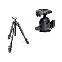 Manfrotto komplet: MT190XPRO4 stojalo + 496RC2 glava