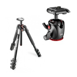 Manfrotto komplet: MT190XPRO4 stojalo + MHXPRO-BHQ2 glava