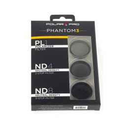 POLAR PRO Filter 3-Pack za DJI Phantom 3 in 4